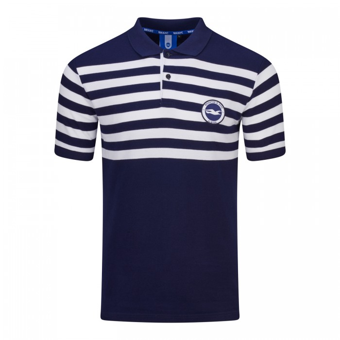 STRIPED YOKE POLO