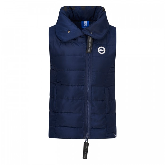 AW18 LADIES NAVY GILLET